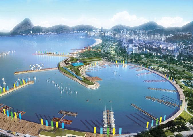 مراحل ساخت و تکمیل دهکده زیبای المپیک ریو