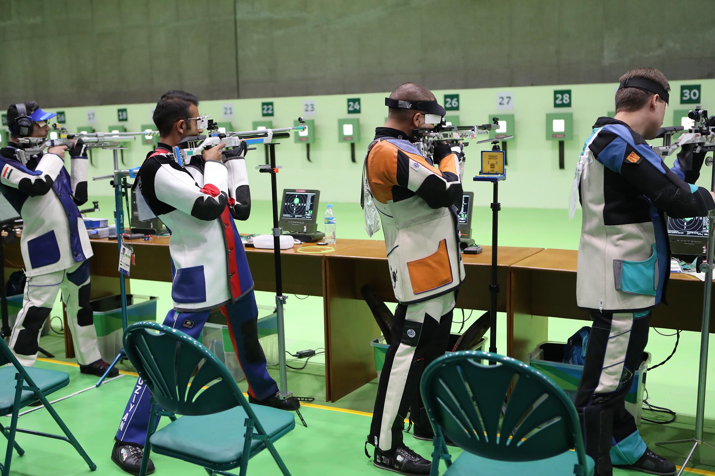 گزارش تصویری تابناک از تیراندازی المپیک ریو