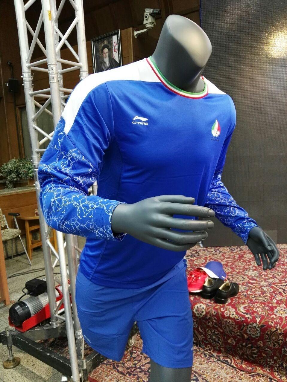 تصاویری از رونمایی لباس کاروان ایران در المپیک