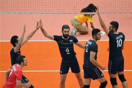 گزارش تصویری تابناک از والیبال روسیه 3 - ایران 0