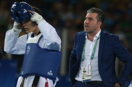گزارش تصویری تابناک از حذف فرزان عاشورزاده از تکواندوی المپیک