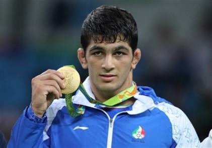 مراسم اهدای مدال طلای حسن یزدانی در المپیک