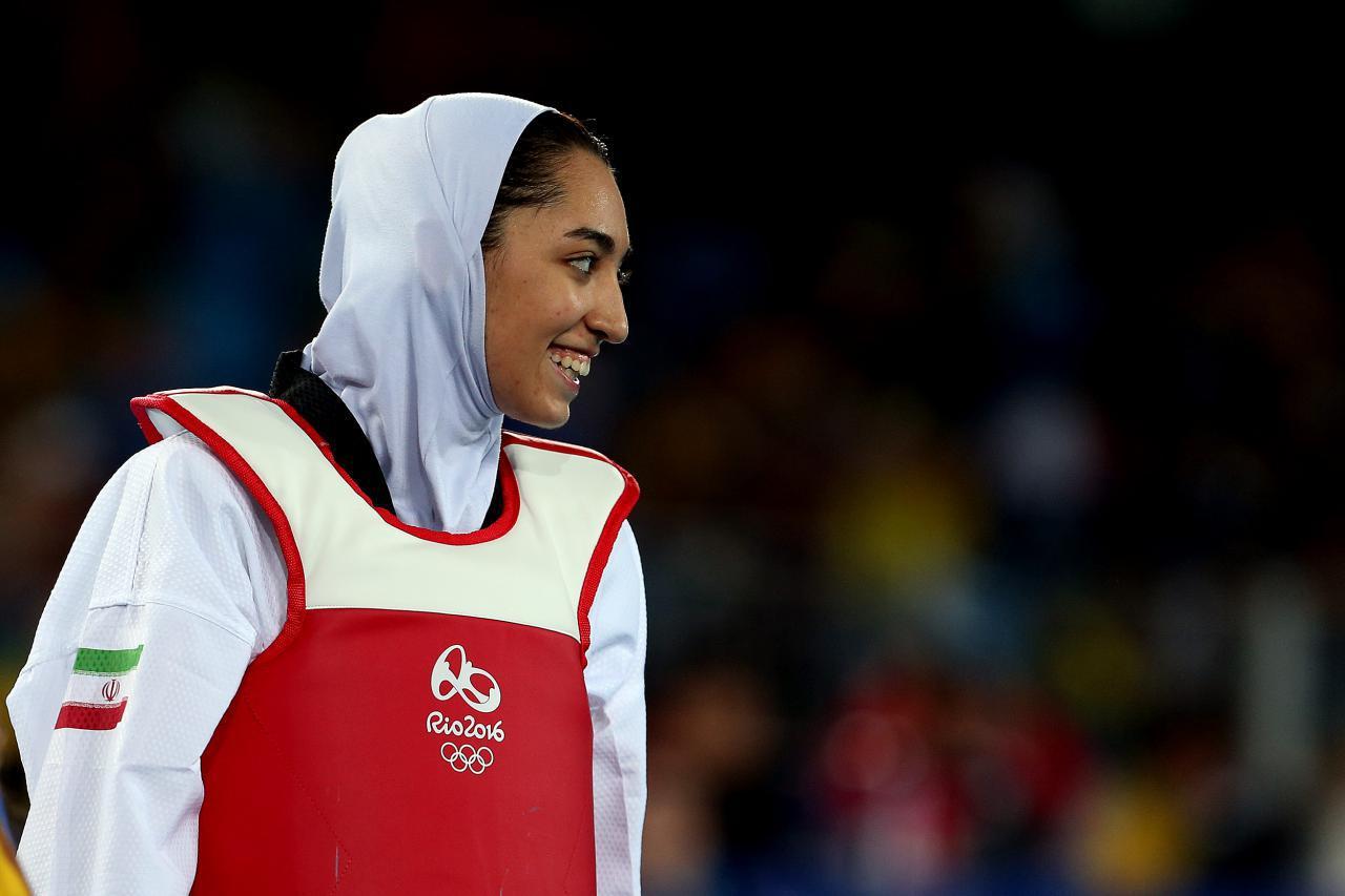 تجلیل کیمیا علیزاده از حمایت رفاه از ورزش بانوان