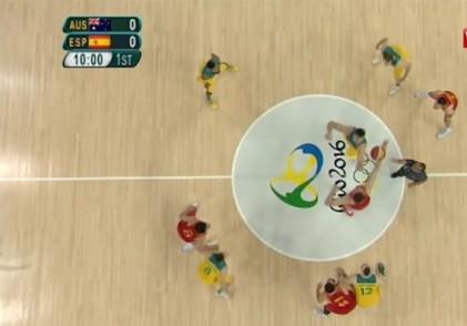 خلاصه رده بندی جذاب اسپانیا و استرالیا در بسکتبال المپیک