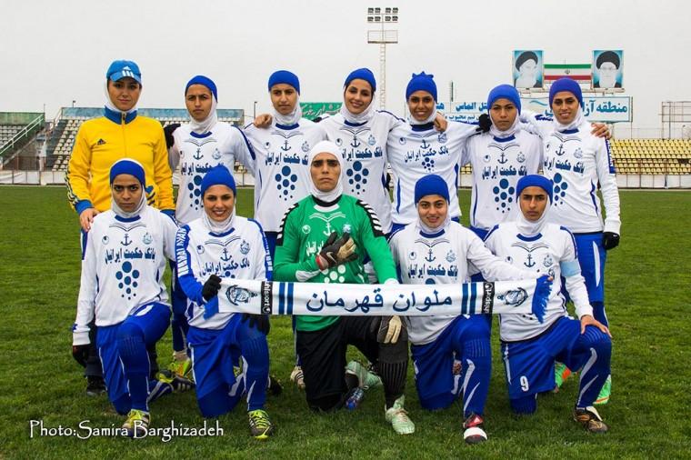 دلیل انحلال تیم زنان ملوان در جامعه اسلامی گفتنی نیست!