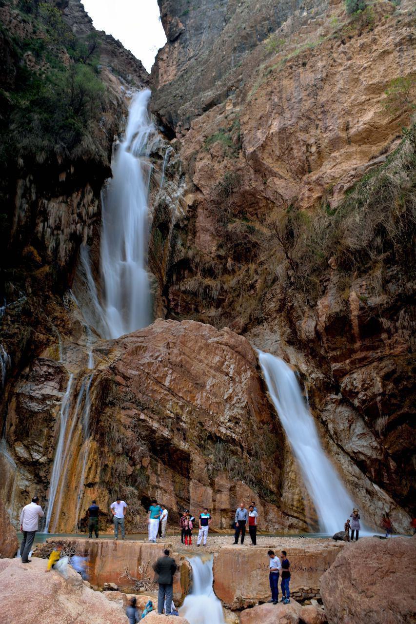 آبشار نوژیان در لرستان