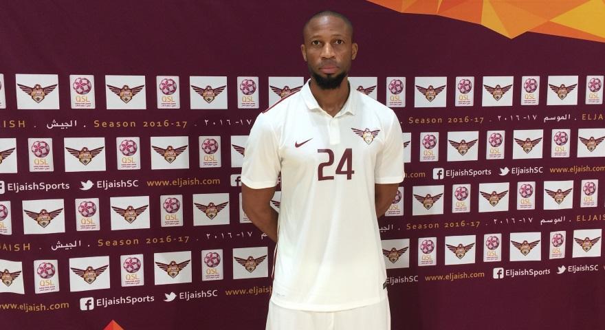 ستاره بارسا در مراسم معارفه تیم قطری