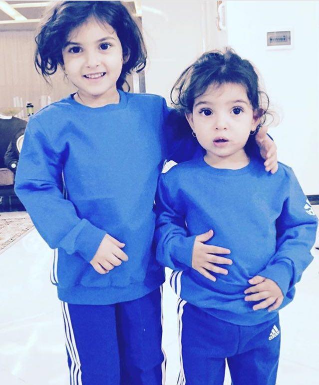 عکس جالب از دختران تمام آبیپوش ستاره استقلال