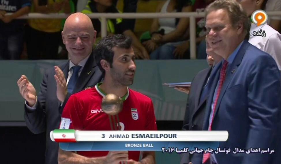 کدام بازیکن ایرانی در تیم منتخب جام جهانی قرارگرفت؟