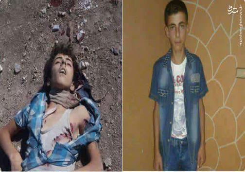 اعدام کودک 13 ساله توسط گروه تکفیری جندالاقصی