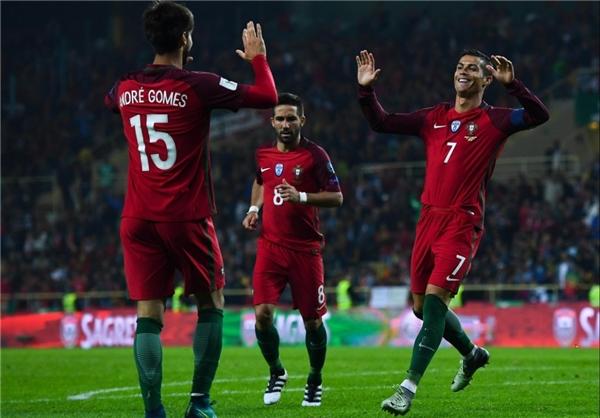 برتری 4 گله فرانسه و هلند و آتش بازی پرتغال با رونالدو