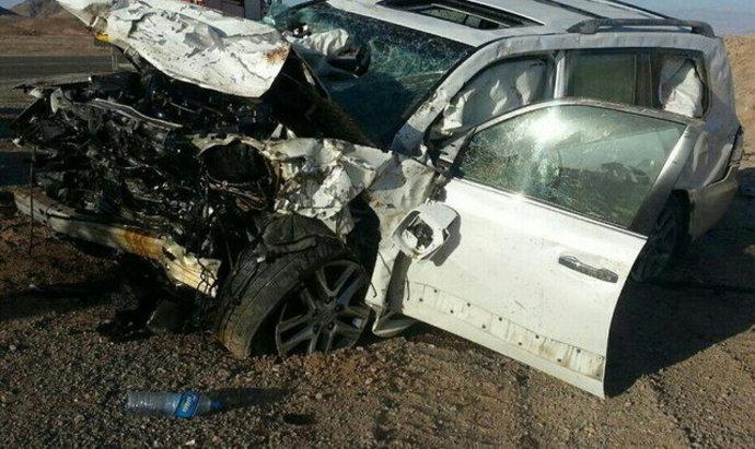 تصادف دو خودرو که یکی برای حفظ جان طراحی شده و دیگری برای بازار!