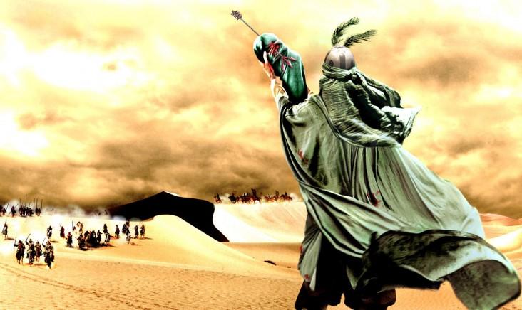 چرا امام حسین در مقابل دشمن ستمگر برای فرزندش آب تقاضا کرد؟