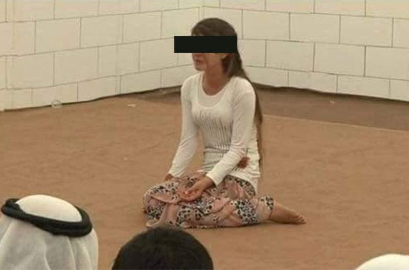 مزایده دختر زیبای عراقی در عربستان