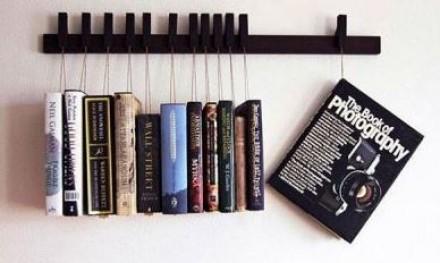 قفسه های کتاب خلاقانه و زیبا