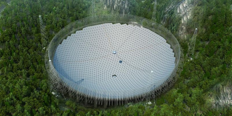 آغاز به کار بزرگترین تلسکوپ رادیویی جهان در چین / فصل جدید در جستجوی حیات فرازمینی