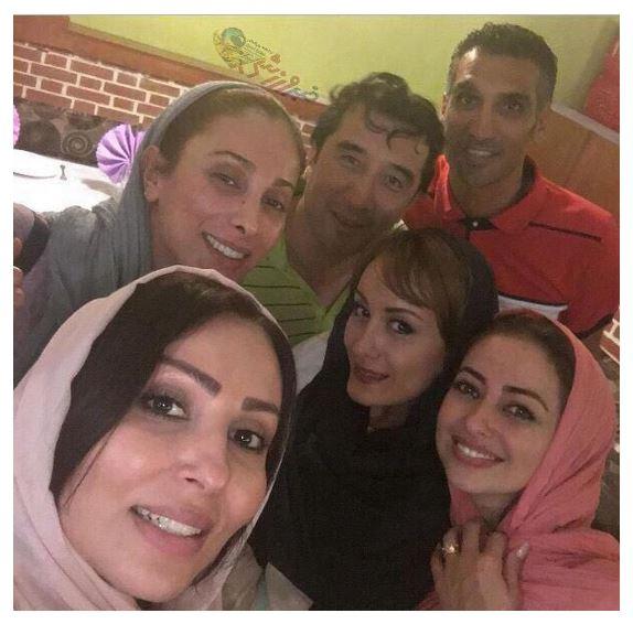 سلفی خداداد و هاشمی نسب با سه بازیگر زن
