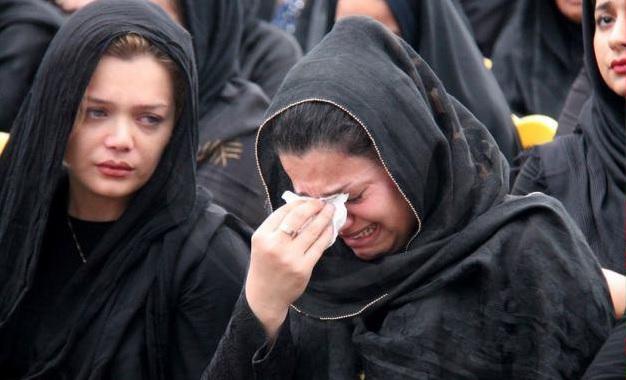 اشکهای همسرنوروزی دراولین سالگردهادی