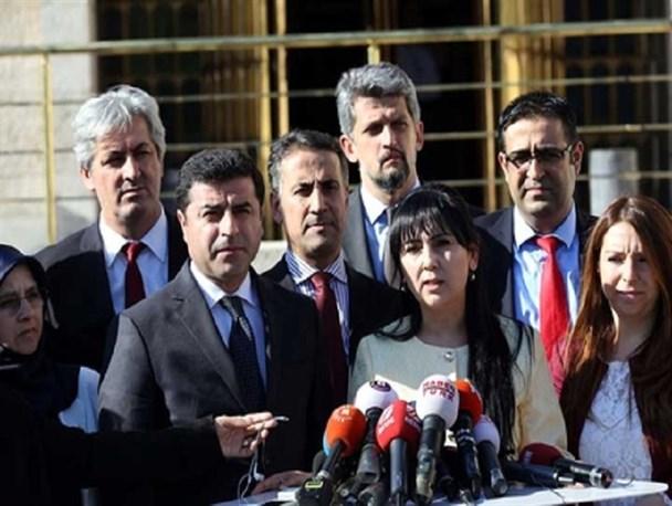 رهبران حزب کرد ترکیه بازداشت شدند