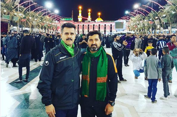 سرمربی تیم ملی فوتسال و استقلال خوزستان در بینالحرمین