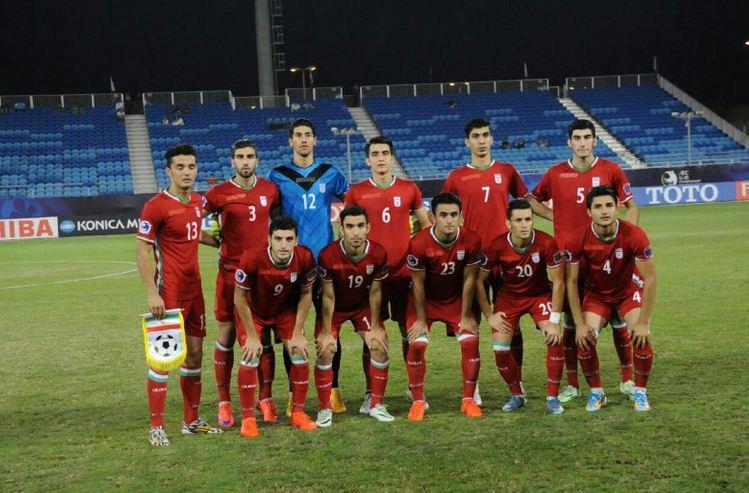 جشن صعود تیم ملی جوانان فوتبال به جام جهاني