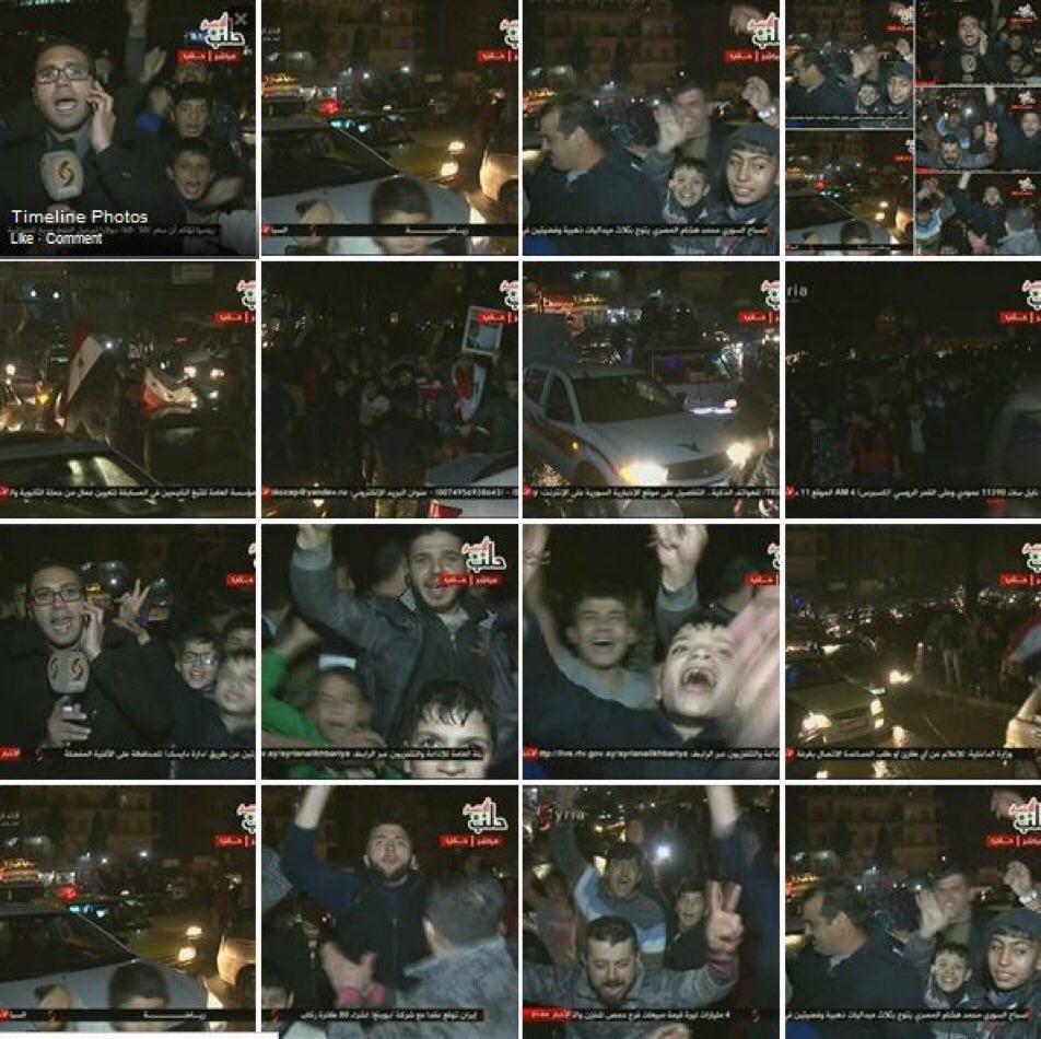 شهر «حلب» بزرگ ترین شهر سوریه به طور کامل آزاد شد