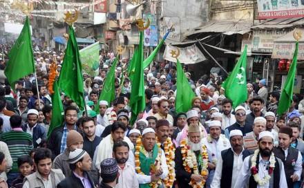 جشن میلاد پیامبر اکرم (ص) در هند