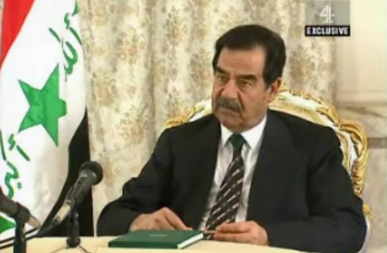 ویدیو: موضع صدام حسین قبل از سقوط