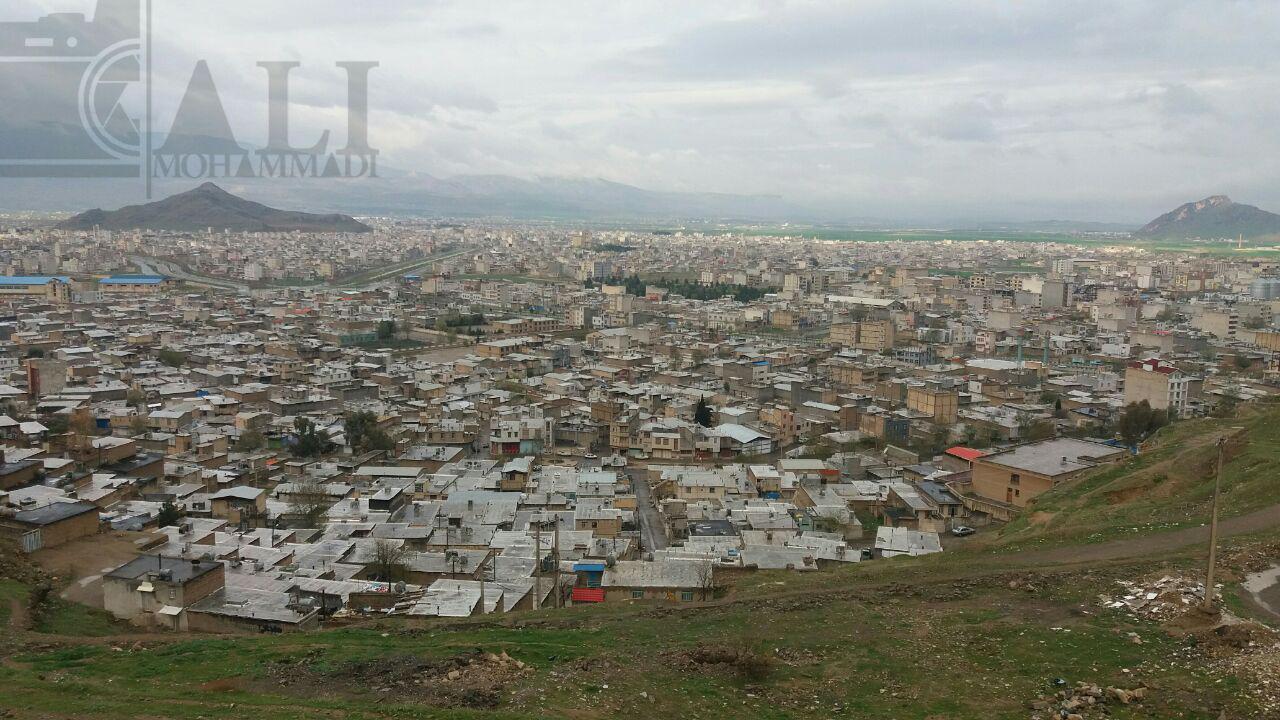 نمایی از شهر خرم آباد استان لرستان