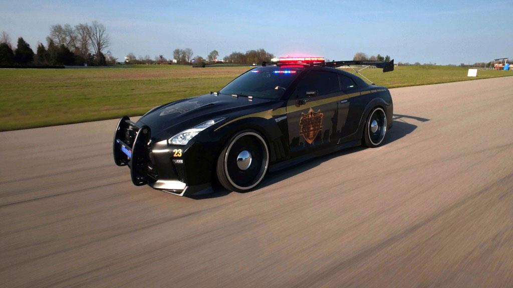 نیسان GT-R خودروی پلیس نیویورک