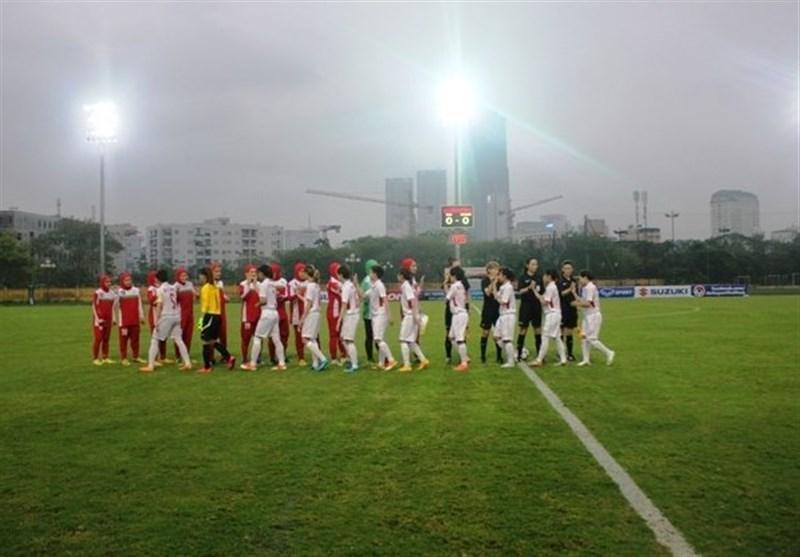 دختران فوتباليست ايران،يك دوجين به سوريه گل زدند!