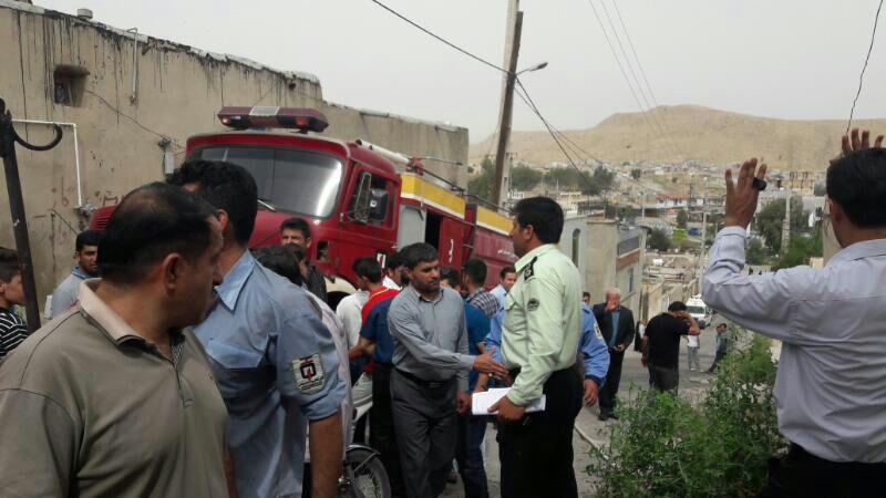 مصدومیت 6 نفر بر اثر انفجار یک منزل مسکونی