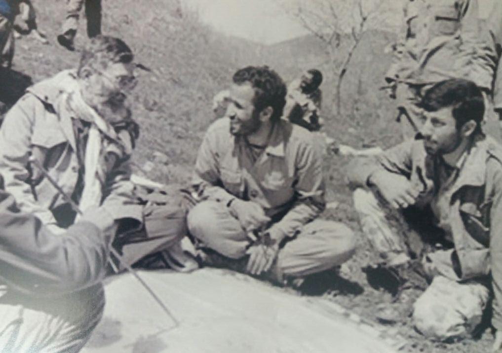 تصویر از حضور سردار دانشیار در کنار رهبر انقلاب