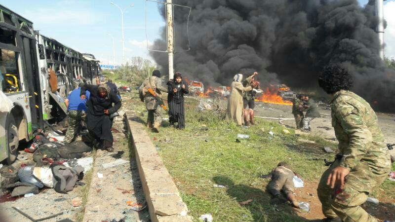 تازه ترین جنایت تروریست ها علیه مردم فوعه و کفریا+ تصاویر