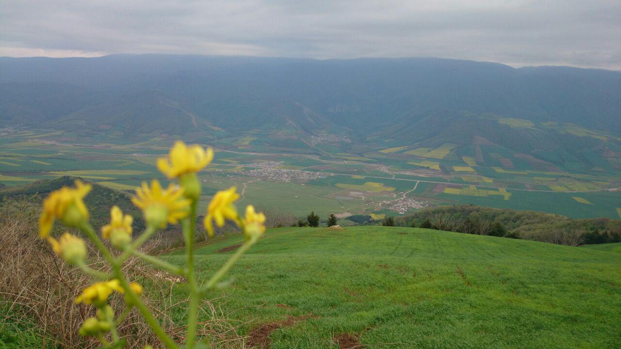 بهار در استان گلستان بخش لوه