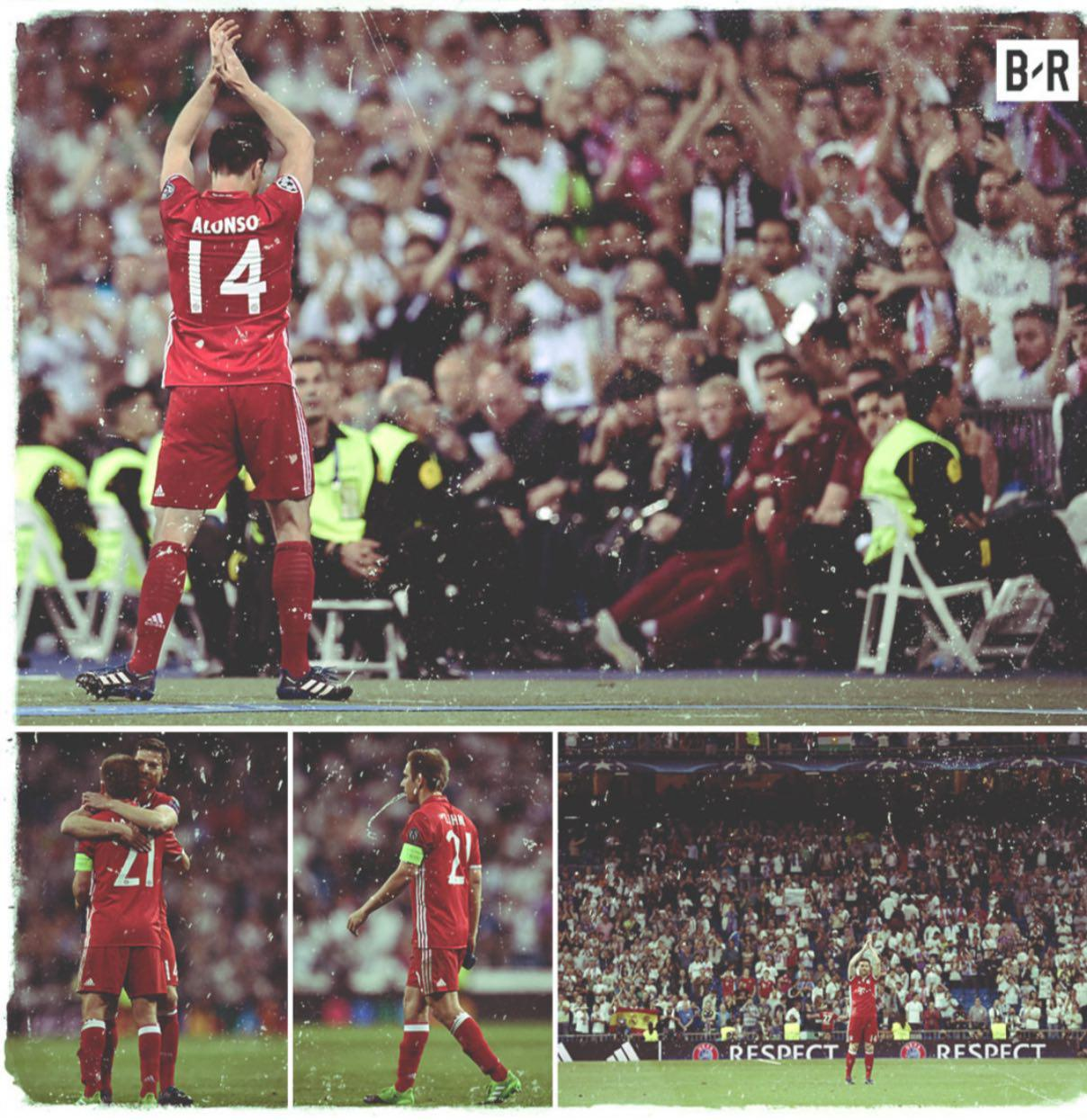 وداع دیشب دو اسطوره با لیگ قهرمانان اروپا