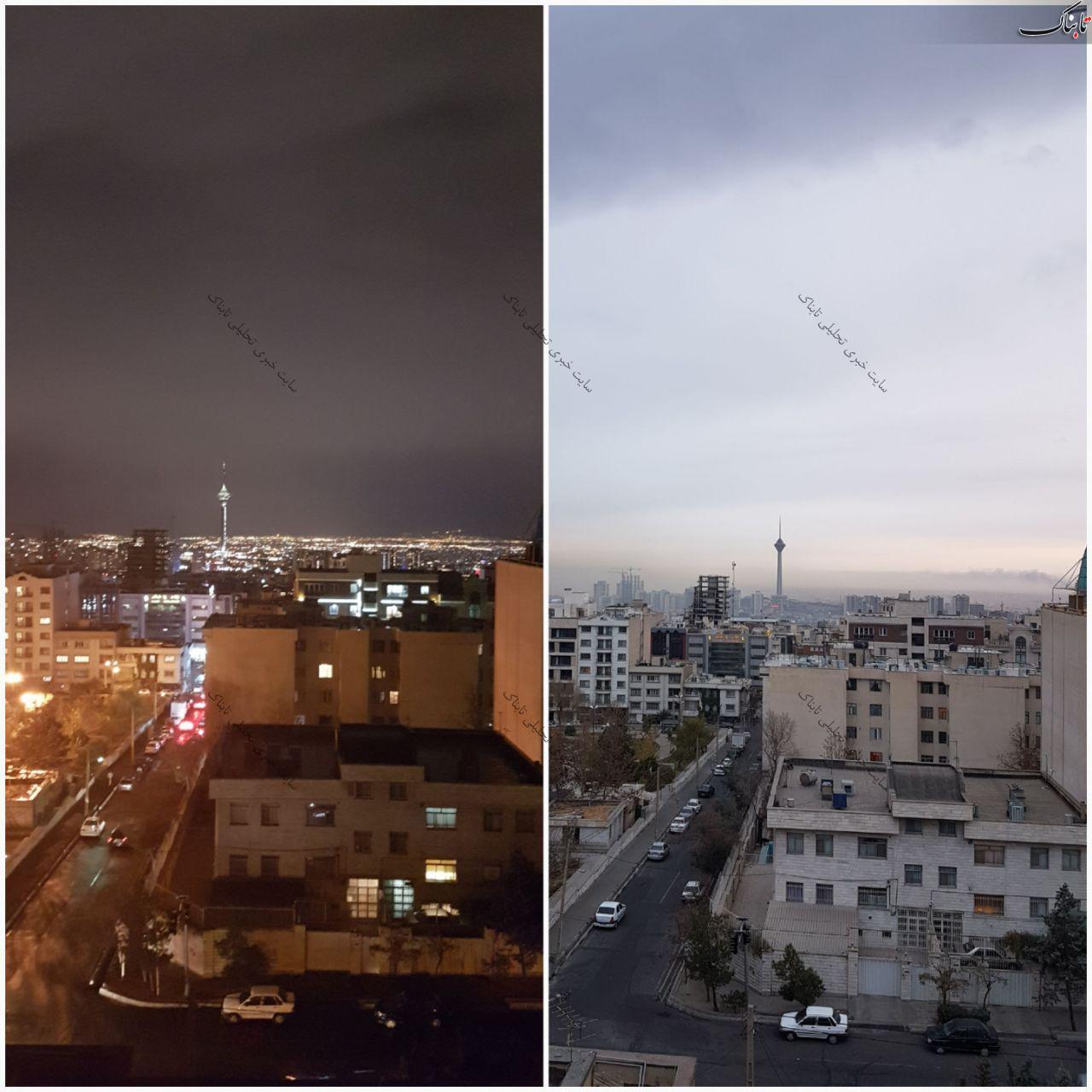 رفع آلودگی هوای تهران