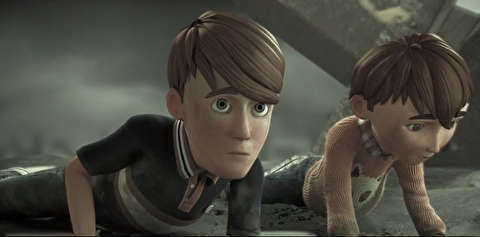 انیمیشن کوتاه پشت خط جبهه