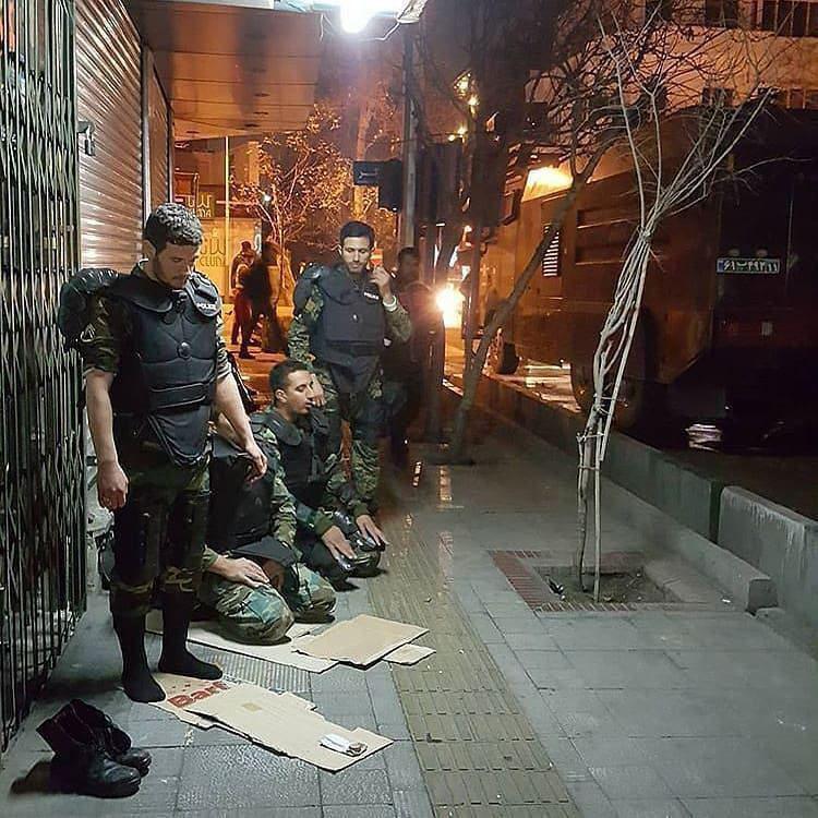 تصویری متفاوت از نیروهای یگان ویژه در تهران
