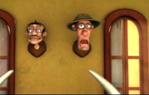 انیمیشن کوتاه شکار