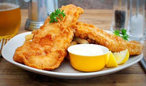 طرز تهیه خمیر مخصوص ماهی سوخاری