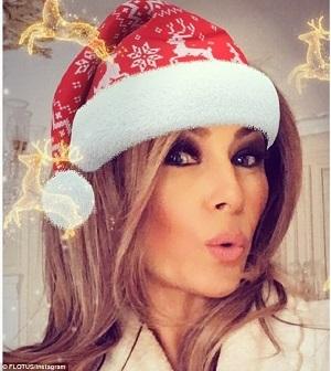 عکسی از همسر ترامپ در صفحه اینستاگرام اش جنجالی شد