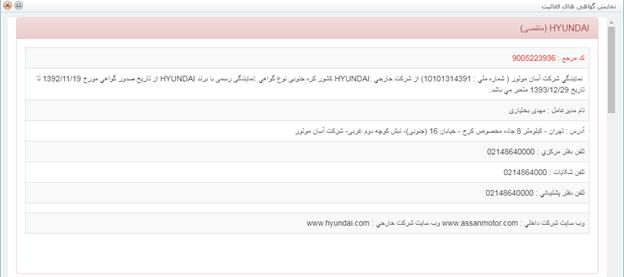 انحصار واردات هیوندا در دستان کرمان موتور