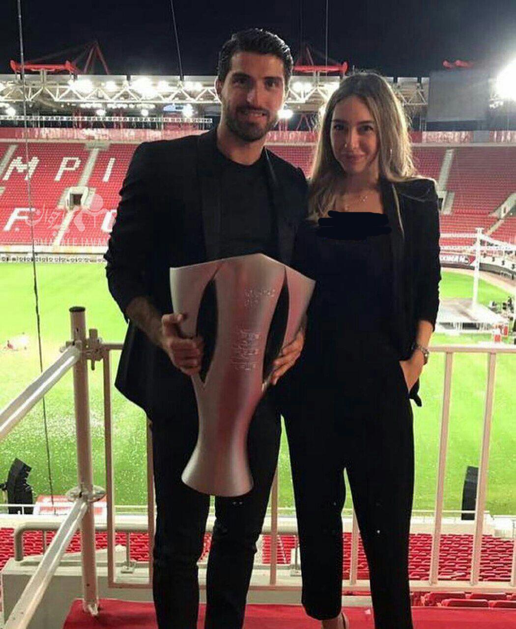 ازدواج لژیونر ایرانی با میلیاردر یونانی- آمریکایی