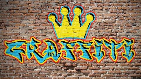 نحوه طراحی گرافیتی بر روی دیوار