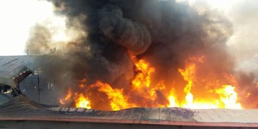 آخرین جزئیات آتشسوزی در کارخانه رنگ در تبریز