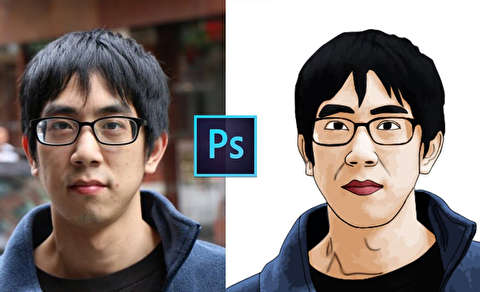 تبدیل عکس به وکتور کارتونی