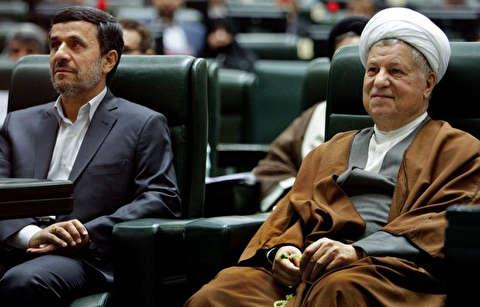 نگرانی هاشمی از دسترسی احمدینژاد