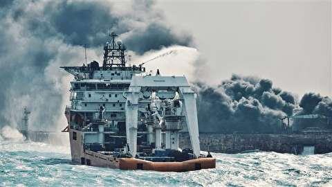 تازه ترین تصاویر و اخبار از نفتکش ایرانی