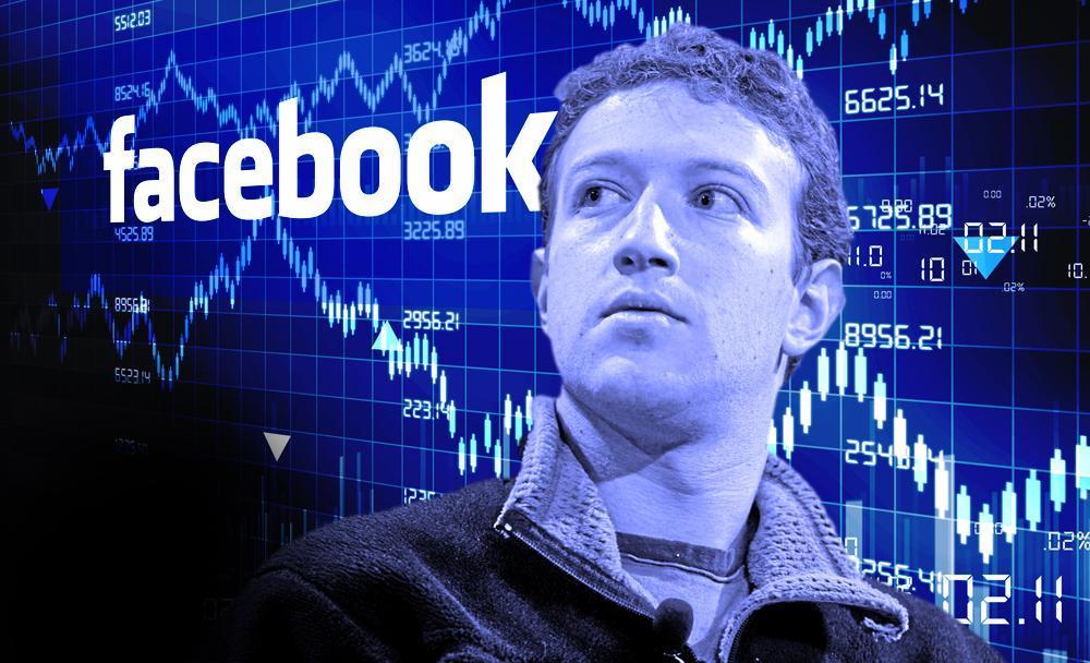 سقوط سهام فیسبوک در معاملات روز جمعه
